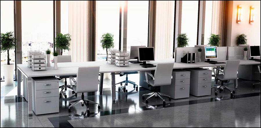 Mesa compartida espacio abierto