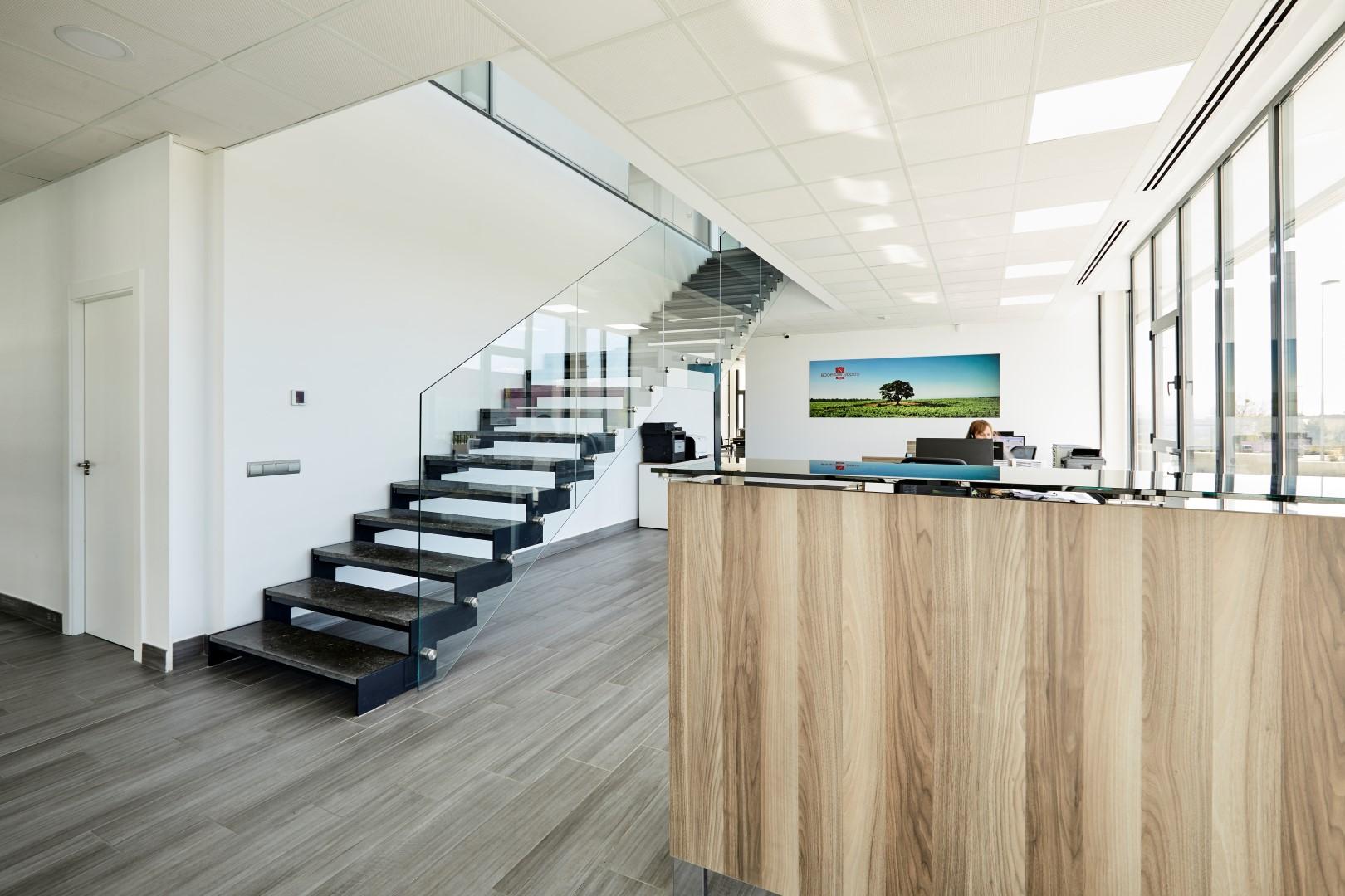 Proyecto aceites de las heras oficines muebles de for Muebles de oficina nexo