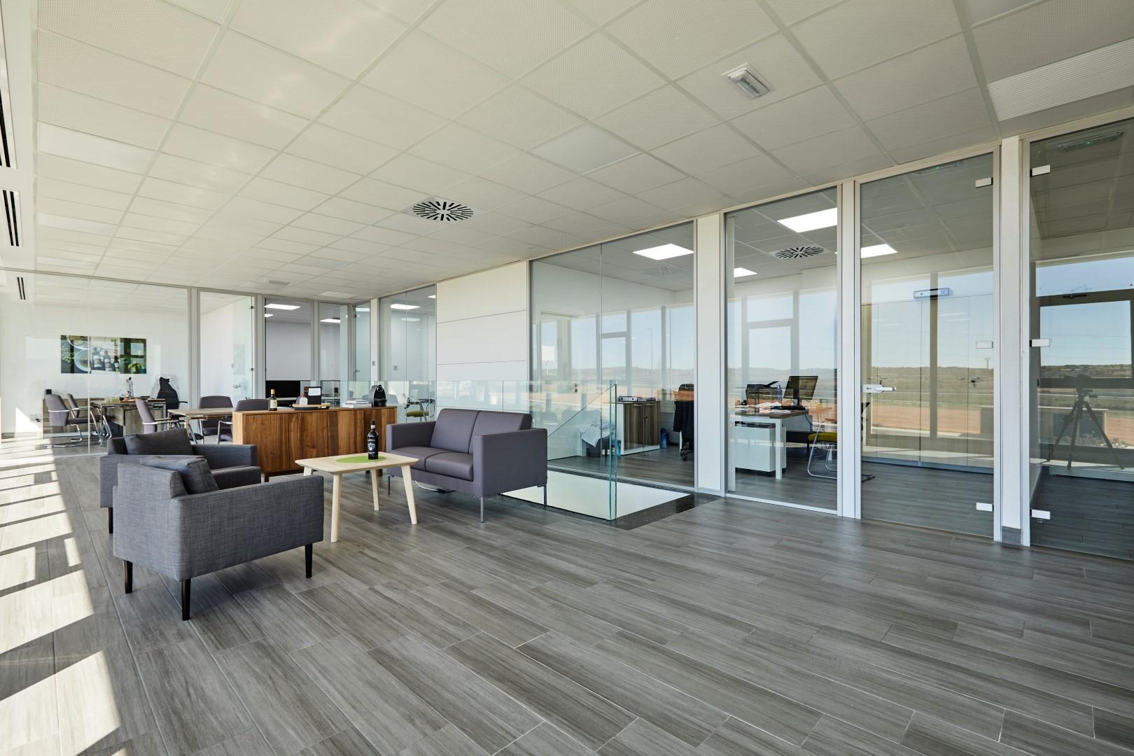 Proyecto Aceites De Las Heras Oficines Muebles De Oficina En  # Muebles Las Heras