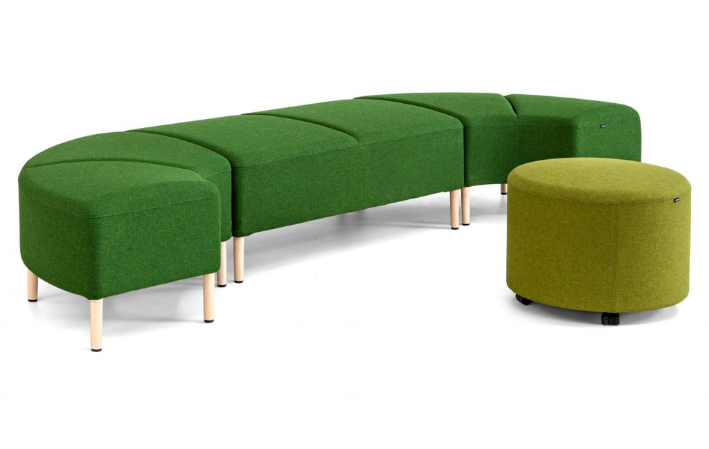 Soft Seating Ejemplo de asientos para sala de espera