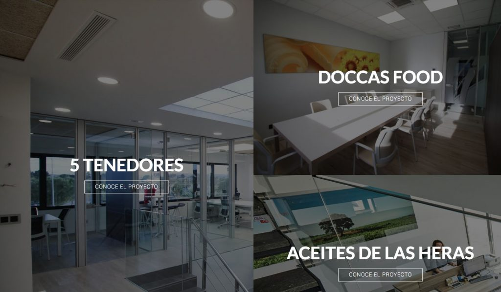 Ampliamos Web Con Nueva Secci N Proyectos Oficines