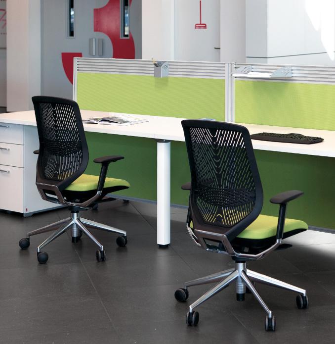 Ligereza silla de oficina oficines muebles de oficina en valencia - Sillas oficina valencia ...